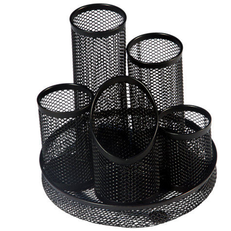 Buy Osco Black Mesh Pen Pot Tidy Online at johnlewis.com