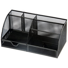 Buy Osco Mesh Desk Organiser, Large Online at johnlewis.com