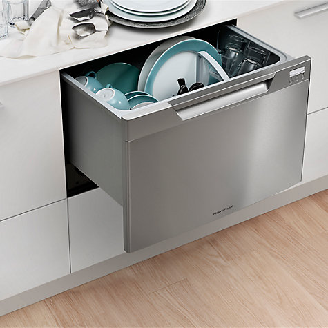 Buy Fisher & Paykel DD60SCHX7 Built-in Single DishDrawer Dishwasher, Stainless Steel Online at johnlewis.com