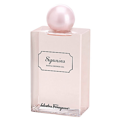 Buy Salvatore Ferragamo Signorina Shower Gel, 200ml Online at johnlewis.com