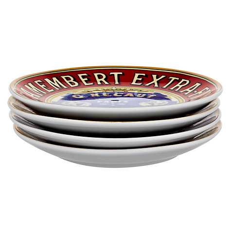 Buy BIA Cordon Bleu Camembert Canape Plates, Box of 4 Online at johnlewis.com