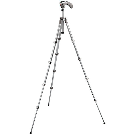 Buy Manfrotto MKC3-H02 Photo-Movie Tripod, Grey Online at johnlewis.com