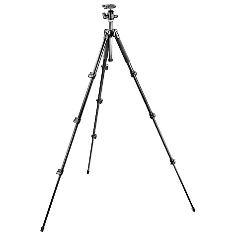 Buy Manfrotto MK293A4 Aluminium Tripod Online at johnlewis.com