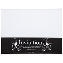 Buy John Lewis Wardrobe Cards, A4, Pack of 10 Online at johnlewis.com