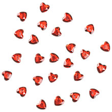 Buy Heart Embellishments, Red, Pack of 30 Online at johnlewis.com