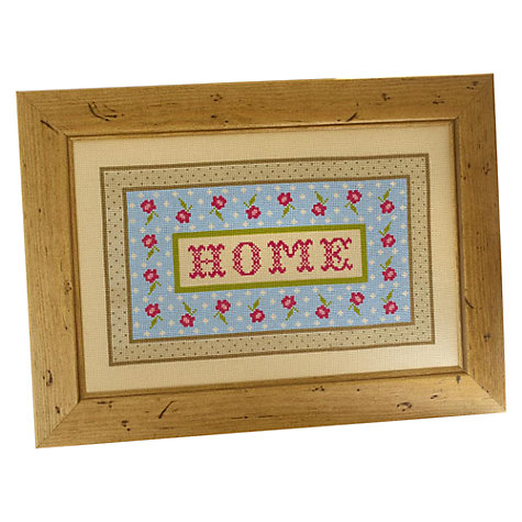 Buy The Historical Sampler Company Home Cross Stitch Kit Online at johnlewis.com