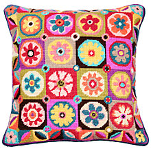 Buy Jolly Red Magic Flowers Cushion Kit Online at johnlewis.com