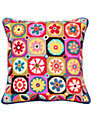 Jolly Red Magic Flowers Cushion Kit