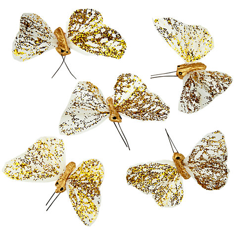 Buy John Lewis Butterflies, Small, Set of 6 Online at johnlewis.com