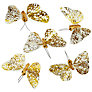 Buy John Lewis Butterflies, Small, Set of 6, Gold Online at johnlewis.com