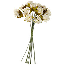 Buy John Lewis Foam Roses, Small, Pack of 12 Online at johnlewis.com