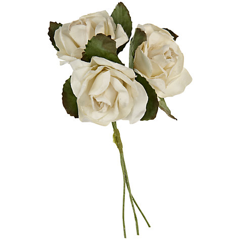 Buy John Lewis Paper Roses, Large Online at johnlewis.com