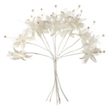 Buy John Lewis Silk Flowers, Pack of 12 Online at johnlewis.com