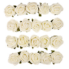 Buy John Lewis Foam Rose Heads, Pack of 20 Online at johnlewis.com
