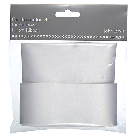 Buy John Lewis Car Decoration Kit Online at johnlewis.com