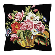 Buy Brigantia Needlework Marseille Tapestry Cushion Kit Online at johnlewis.com