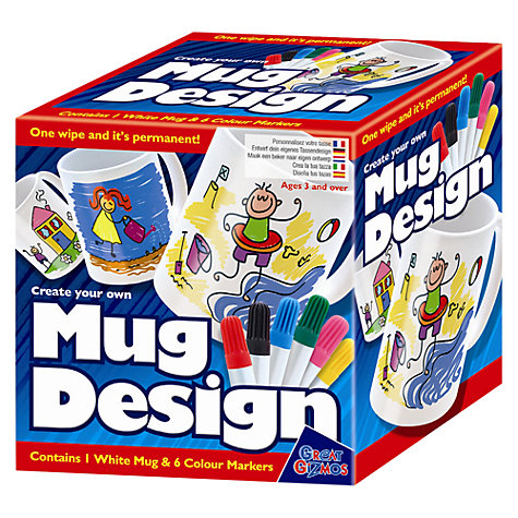 Buy Create Your Own Mug Design Kit Online at johnlewis.com