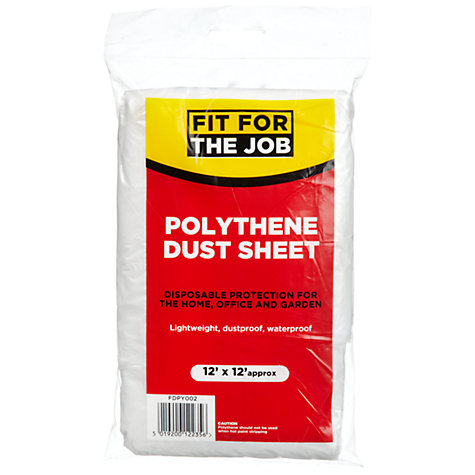Buy Fit For The Job DIY Dust Sheet Online at johnlewis.com