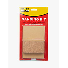 Buy Fit For The Job DIY Sanding Kit Online at johnlewis.com
