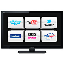Buy Panasonic Viera TX-L32E5B LED HD 1080p Smart TV, 32 Inch with Freeview HD Online at johnlewis.com