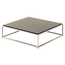 Buy Gloster Cloud Square Outdoor Coffee Table, HPL Top, 100 x 100cm Online at johnlewis.com
