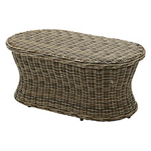 Buy Gloster Havana Oval Outdoor Coffee Table, 112 x 61cm Online at johnlewis.com