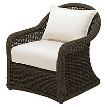 Buy Gloster Havana Deep Seat Outdoor Armchair, Sienna Online at johnlewis.com
