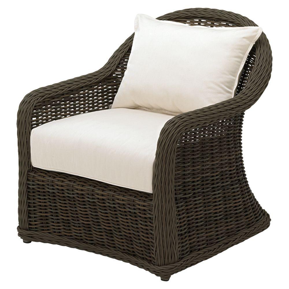 Gloster Havana Deep Seat Outdoor Armchair, Sienna