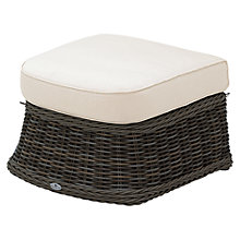 Buy Gloster Havana Deep Seat Outdoor Ottoman, Sienna Online at johnlewis.com
