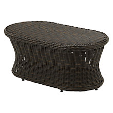 Buy Gloster Havana Oval Outdoor Coffee Table Online at johnlewis.com