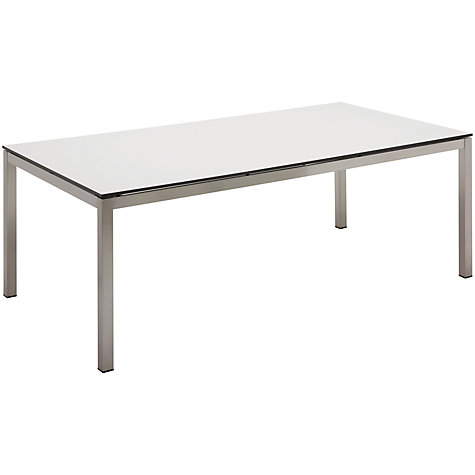 Buy Gloster Kore Rectangular 8 Seater Outdoor Dining Table Online at johnlewis.com