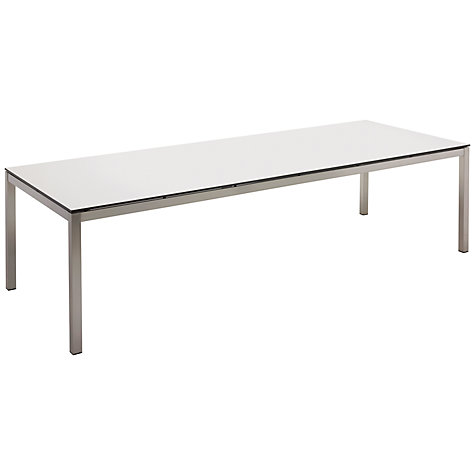 Buy Gloster Kore Rectangular 10 Seater Outdoor Dining Table Online at johnlewis.com
