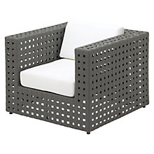 Buy Gloster Linea Modular Waterproof Outdoor Lounge Chair, Ivory Online at johnlewis.com