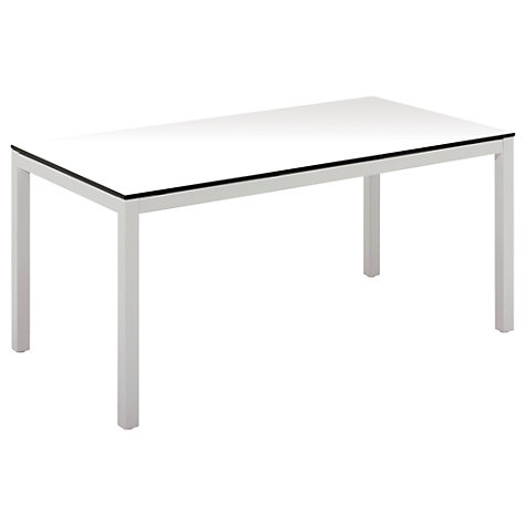Buy Gloster Riva Rectangular 6 Seater Outdoor Dining Table Online at johnlewis.com