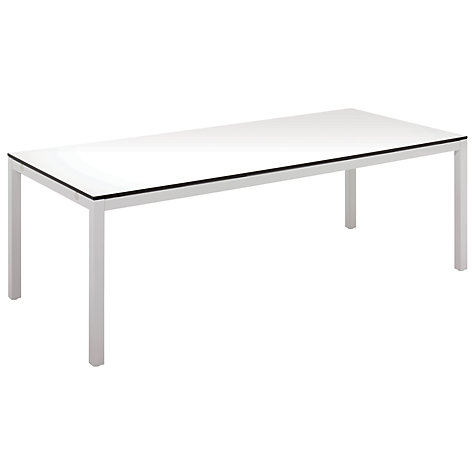 Buy Gloster Riva Rectangular 8 Seater Outdoor Dining Table Online at johnlewis.com