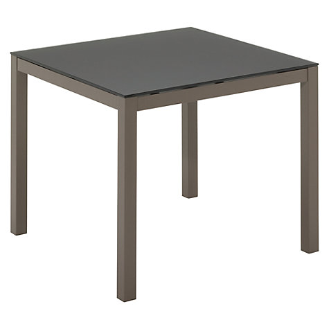 Buy Gloster Riva Square 4 Seater Outdoor Dining Table Online at johnlewis.com