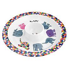 Buy Petit Jour Elmer Egg Cup Plate Online at johnlewis.com