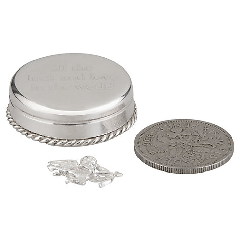 Buy Tales from the Earth All the Luck and Love Box, Silver Online at johnlewis.com