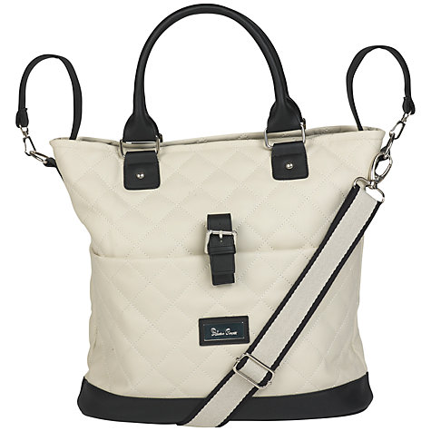 Buy Silver Cross Elegance Changing Bag, Cream/Black Online at johnlewis.com