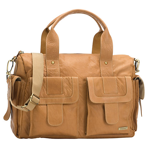 Buy Storksak Sofia Changing Bag, Tan Online at johnlewis.com