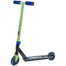Buy Slamm Frenzy Scooter, Green/Black Online at johnlewis.com