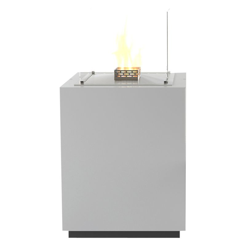Decoflame® Decoflame 17130 Monaco Square Tower Bioethanol Fire, White