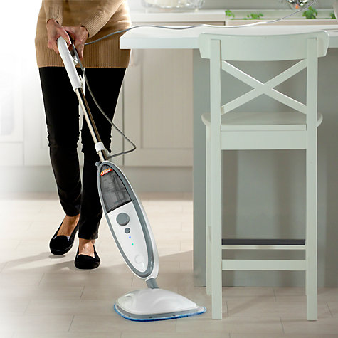 Buy Vax S2S-1 Bare Floor Pro Upright Steam Stick, Grey Online at johnlewis.com
