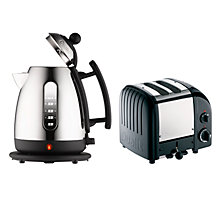 Buy Dualit 72470 Kettle and Dualit 2-Slice NewGen Toaster, Black Online at johnlewis.com