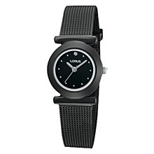 Buy Lorus RRS33TX9 Women's Steel Mesh Strap Watch Online at johnlewis.com
