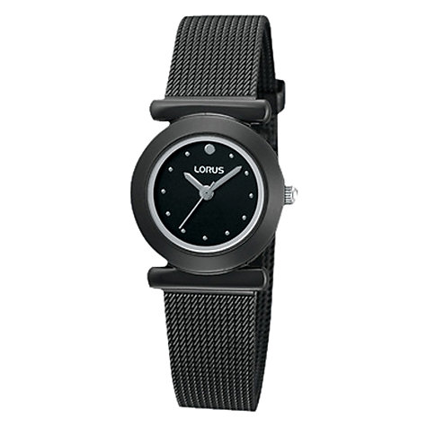 Buy Lorus Women's Steel Mesh Strap Watch Online at johnlewis.com