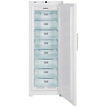 Buy Liebherr GN4113 Upright Freezer, A++ Energy Rating, 70cm Wide, White Online at johnlewis.com