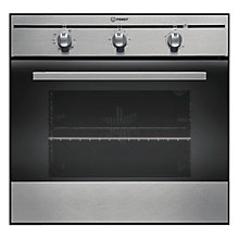 Buy Indesit FIM31KAIX Single Electric Oven, Stainless Steel Online at johnlewis.com