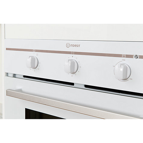 Buy Indesit FIM31KAWH Single Electric Oven, White Online at johnlewis.com