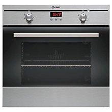 Buy Indesit FIM33KAIX Single Electric Oven, Stainless Steel Online at johnlewis.com